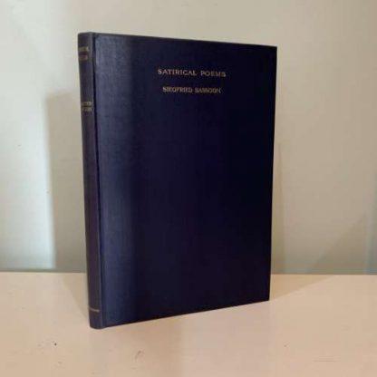 SASSOON, Siegfried - Satirical Poems