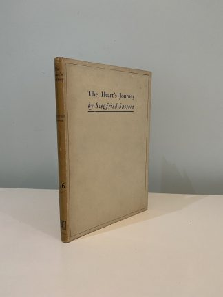 SASSOON, Siegfried - The Heart's Journey