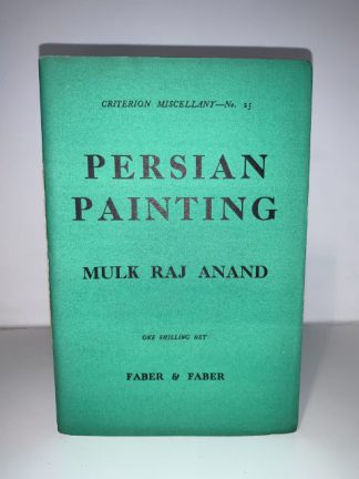 ANAND RAJ, Mulk - Persian Painting (Criterion Miscellany No.25)