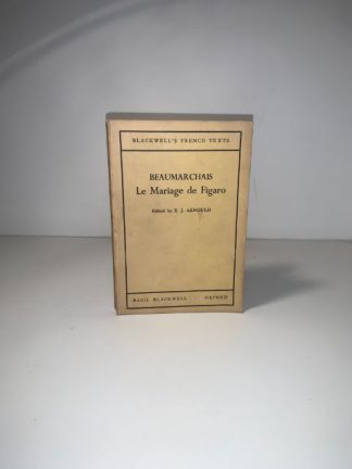 ARNOUL, E.J - BeauMarchais Le Mariage De Figaro