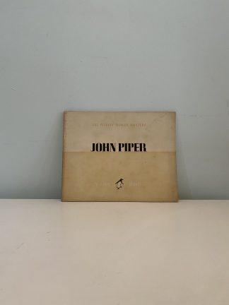 BETJEMAN, John - John Piper: The Penguin Modern Painters