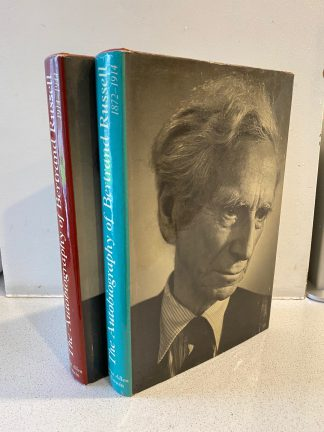 RUSSELL, BERTRAND - The Autobiography Of Bertrand Russell Volumes I & II